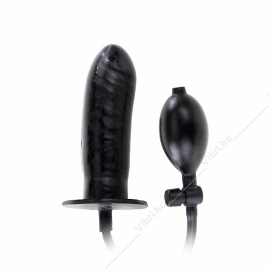 Bigger Joy pumpálható dildó - fekete
