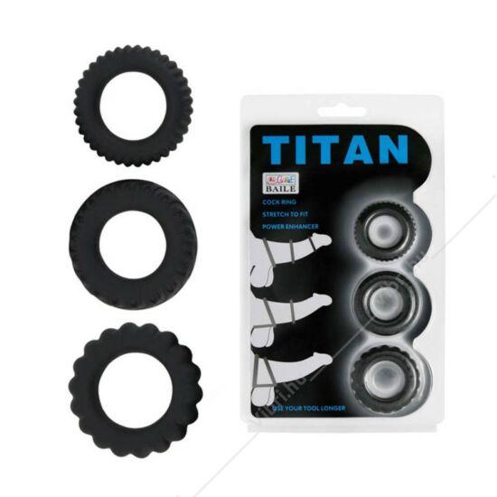 Titán erekció gyűrű szett