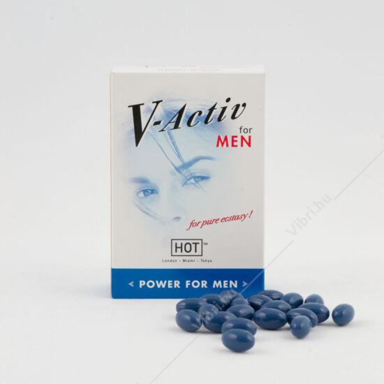 V-Activ étrend kiegészítő férfiaknak - 20db