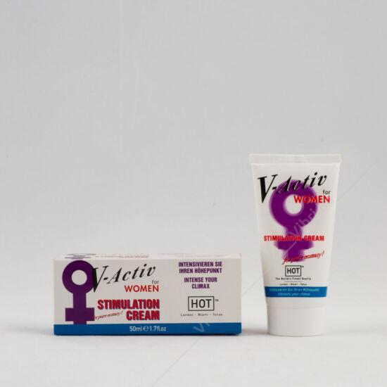 V-Activ stimuláló krém nőknek - 50ml