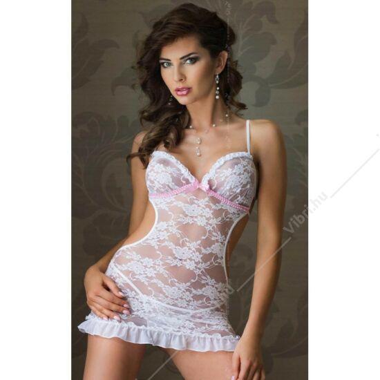 Elbűvölő szexi ruha - fehér - S/M